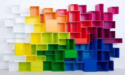 Cubit : un système de rangement haut en couleur !