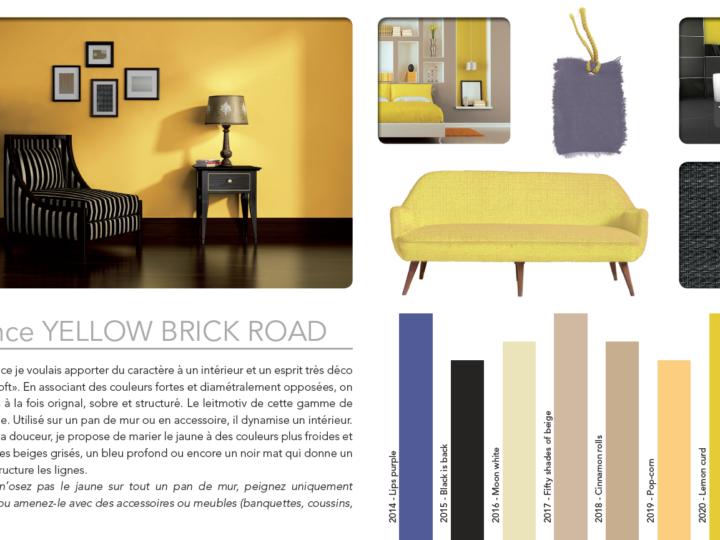 Ambiance Yellow Brick Road par Aurélie Hémar
