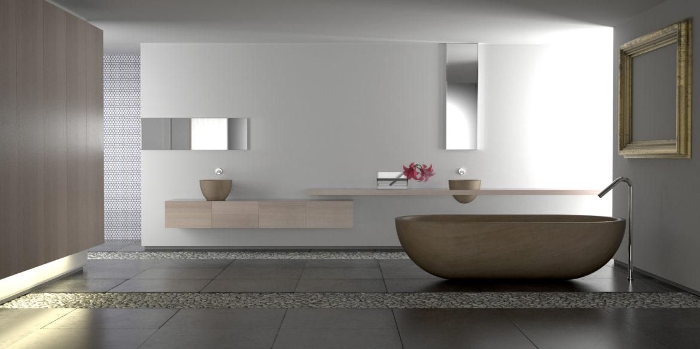 quelle couleur pour une salle de bain peintures1825