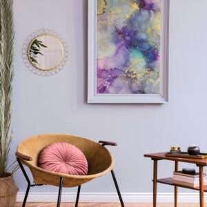 LILAS - N°1980 Peinture violette pastel violet clair