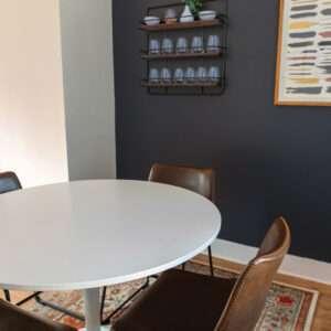 VINYL - N°2041 Peinture gris foncé marron foncé noir