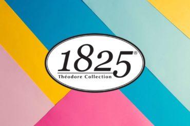 Logo Peintures 1825 sur fond coloré