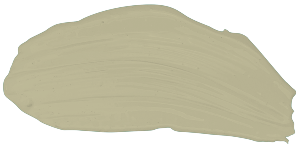 Trace de peinture en teinte LAURIER - N°19350, notre beige tirant vers le vert. Peintures 1825