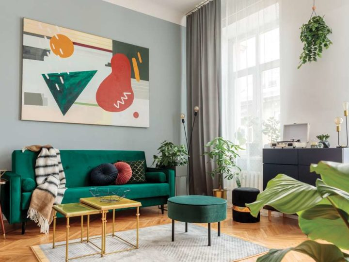 Les Inspirations Peintures 1825® : le salon prend des couleurs